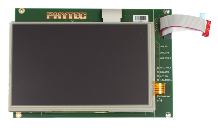 PHYTEC LCD Display Accessory
