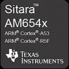 Texas Instruments AM65x badge black
