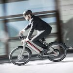 Man riding Stromer ebike ST5