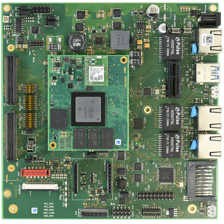 phyCORE-AM65x System on Module on Carrier Board