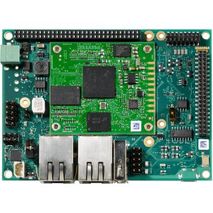 PHYTEC phyBOARD-AM335x Single Board Computer top view