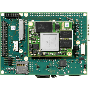 PHYTEC phyBOARD-i.MX 6 Single Board Computer top view