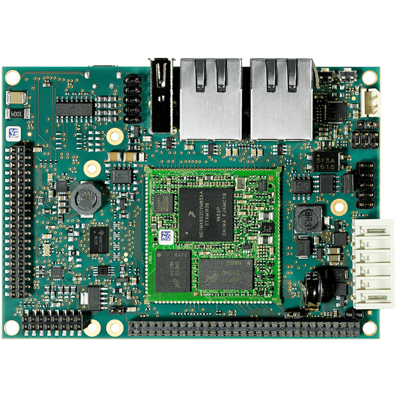 PHYTEC phyBOARD-i.MX 6UL Single Board Computer top view