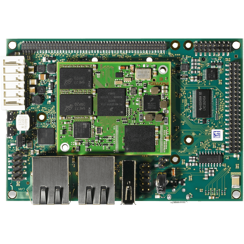 PHYTEC phyBOARD-i.MX 7 Single Board Computer top view