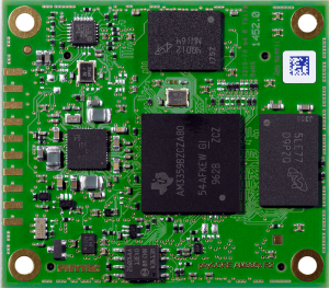 PHYTEC phyCORE-AM335x System on Module top view