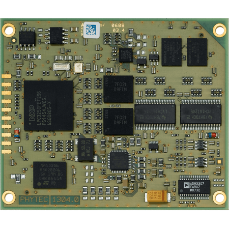PHYTEC phyCORE-LPC3250 System on Module top view